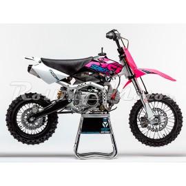 Питбайк YCF START F125-SE (п/автомат, эл. стартер) 14/12, 125cc, розовый 2015г.